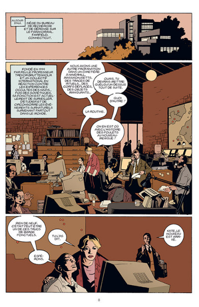 Page 4 B.P.R.D. tome 1