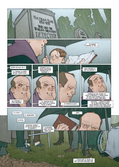 Page 2 Détectives tome 7 - Nathan Else - Else et la mort