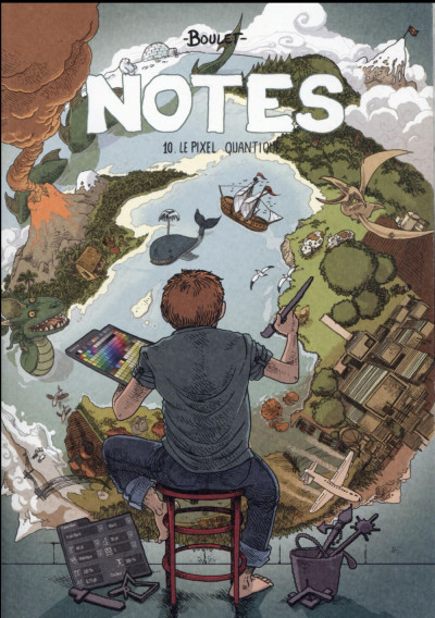 Couverture Notes tome 10