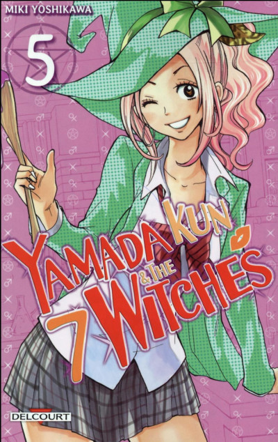 Couverture Yamada Kun & the 7 Witches tome 5