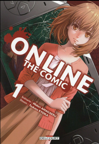 Couverture Online the comic tome 1
