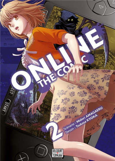 Couverture Online the comic tome 2