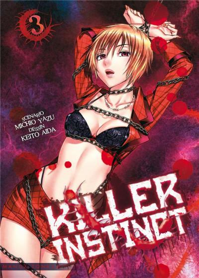 Couverture Killer instinct tome 3
