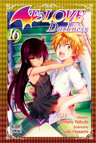 Couverture To love darkness tome 16