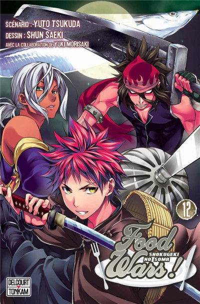 Couverture Food wars tome 12