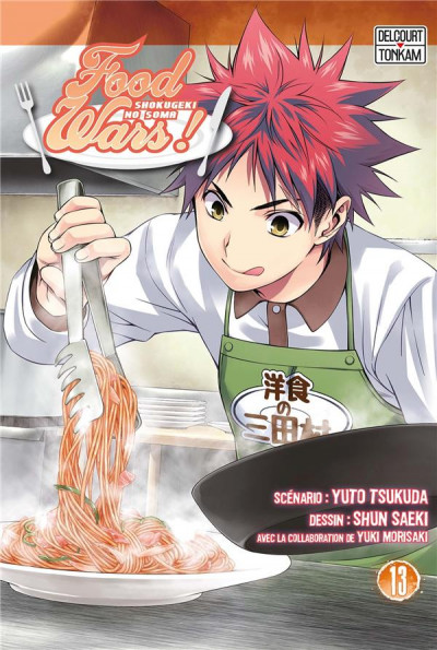 Couverture Food wars tome 13