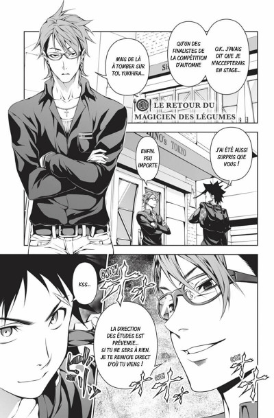 Page 6 Food wars tome 14