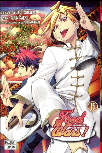 Couverture Food wars tome 15