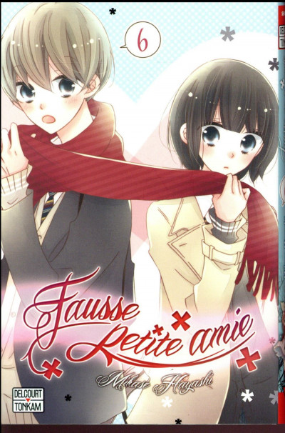 Couverture Fausse petite amie tome 6