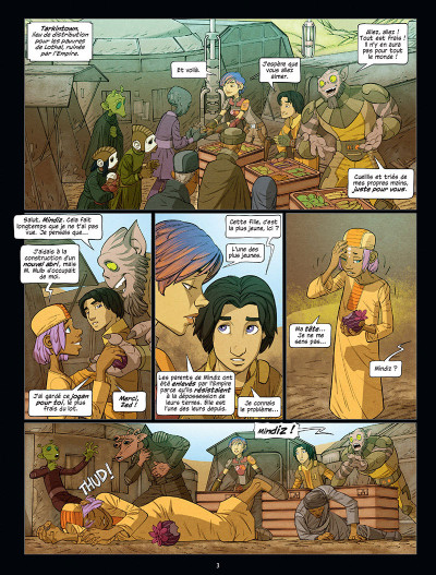 Page 1 Star Wars - Rebels tome 3