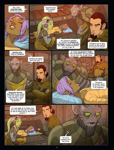 Page 2 Star Wars - Rebels tome 3