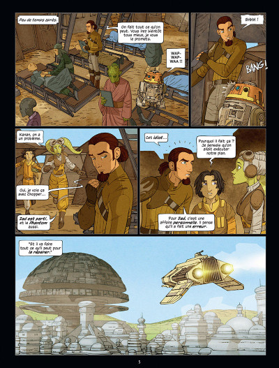 Page 3 Star Wars - Rebels tome 3