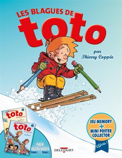 Couverture Les Blagues de Toto - Fourreau tomes 1 et 2