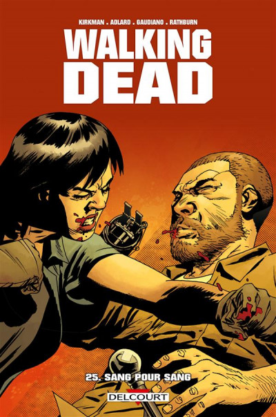 Couverture Walking Dead tome 25