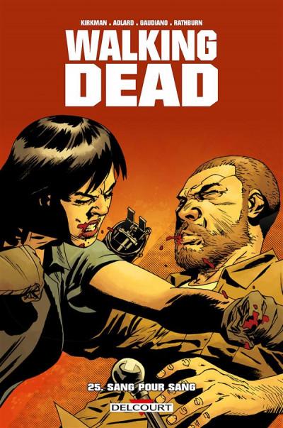 Couverture Walking Dead tome 25