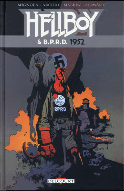 Couverture Hellboy & B.P.R.D. tome 1