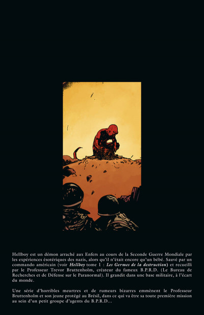 Page 5 Hellboy & B.P.R.D. tome 1