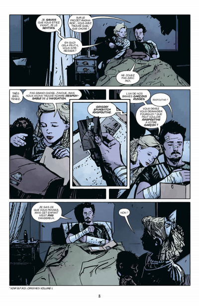 Page 9 Hellboy & B.P.R.D. tome 1