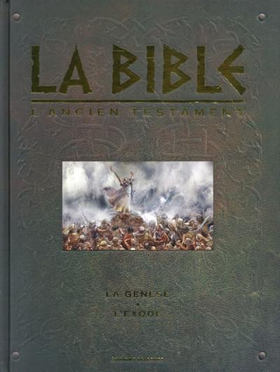 Couverture Bible l'ancien testament : la genèse et l'exode intégrale