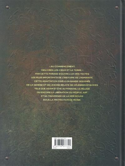 Dos Bible l'ancien testament : la genèse et l'exode intégrale