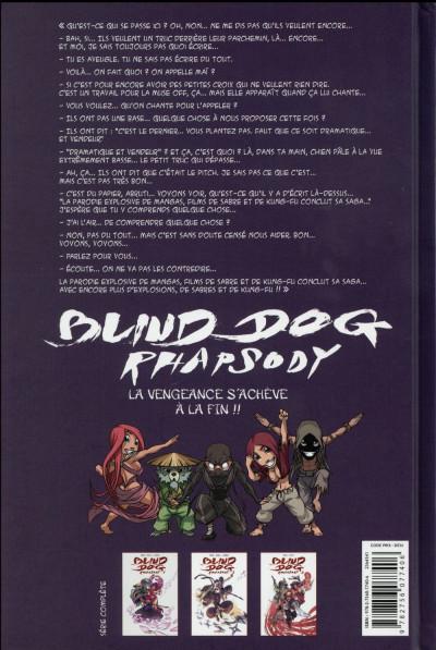 Dos Blind dog rhapsody tome 3