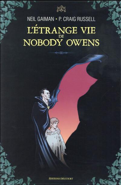 Couverture L'Étrange Vie de Nobody Owens - Coffret tomes 1 + 2