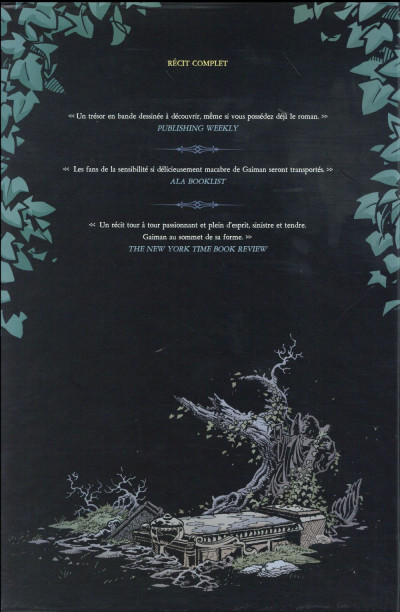 Dos L'Étrange Vie de Nobody Owens - Coffret tomes 1 + 2