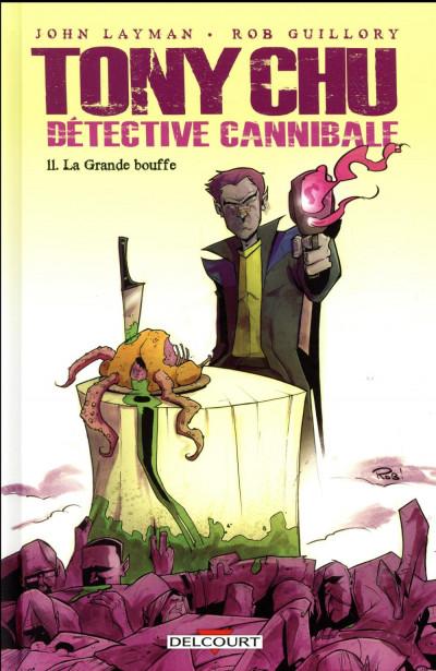 Couverture Tony Chu, détective cannibale tome 11