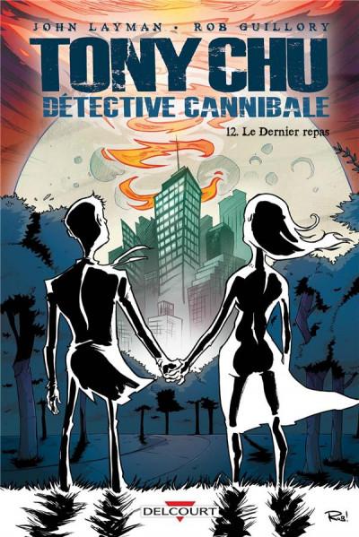 Couverture Tony Chu, détective cannibale tome 12