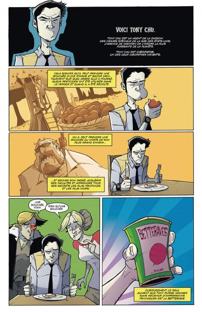 Page 1 Tony Chu, détective cannibale tome 12