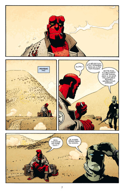Page 1 Hellboy tome 15