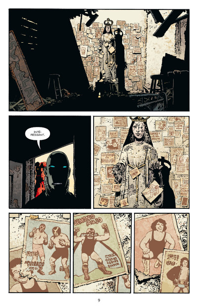 Page 3 Hellboy tome 15