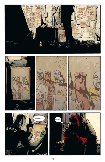 Page 4 Hellboy tome 15