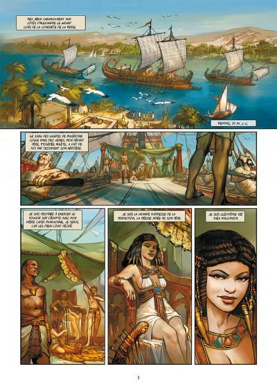 Page 1 Les reines de sang - Cléopâtre, la reine fatale tome 1