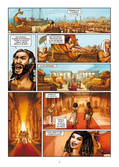 Page 2 Les reines de sang - Cléopâtre, la reine fatale tome 1