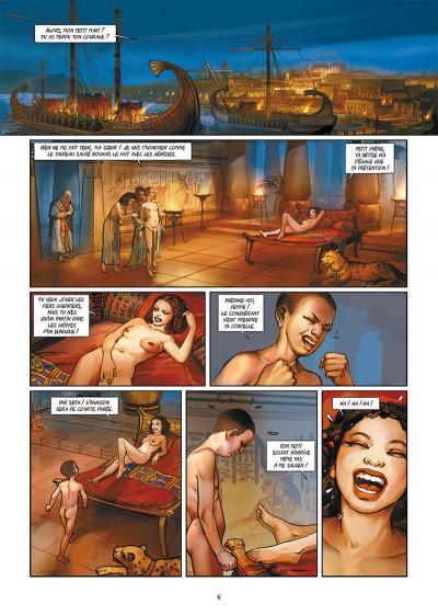 Page 4 Les reines de sang - Cléopâtre, la reine fatale tome 1