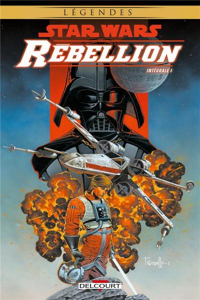 Couverture Star wars - rébellion - intégrale tome 1