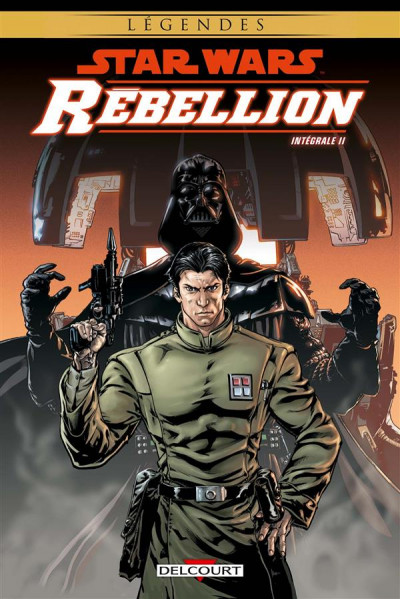 Couverture Star Wars - Rebellion - intégrale tome 2