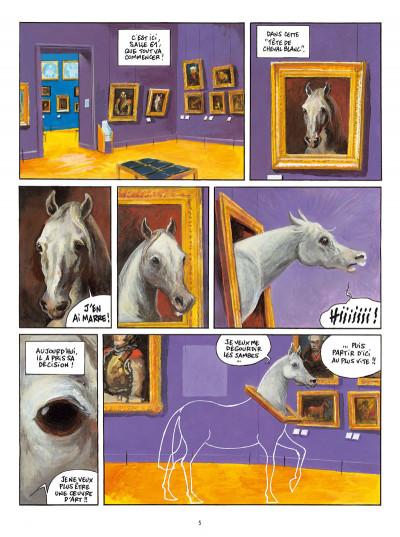 Page 3 Le cheval qui ne voulait plus être une oeuvre d'art