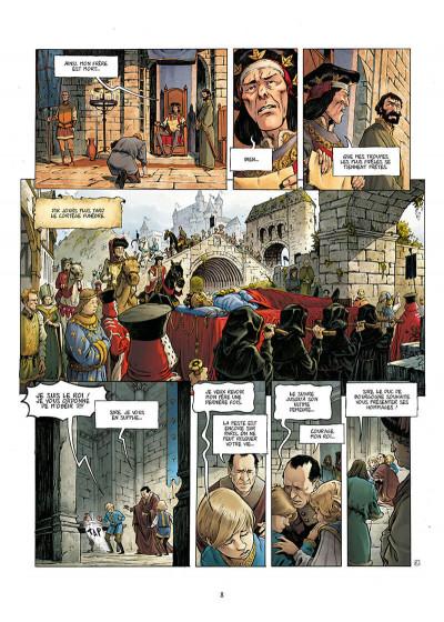 Page 8 La couronne de verre tome 1