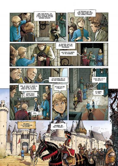 Page 9 La couronne de verre tome 1