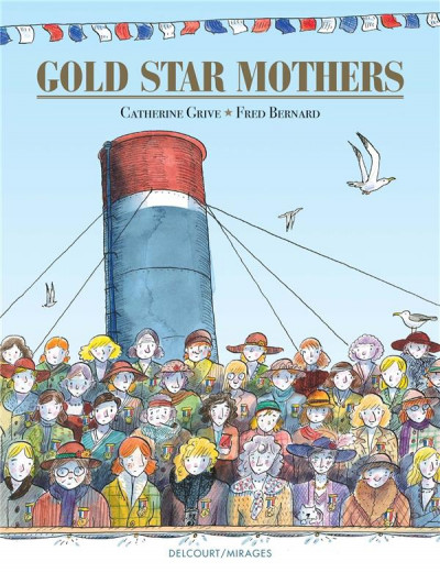 Couverture Gold star mothers