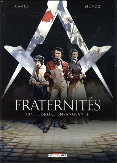 Couverture Fraternités tome 3
