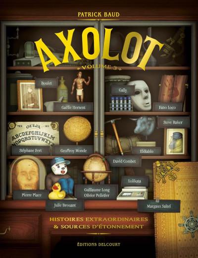 Couverture Axolot tome 3
