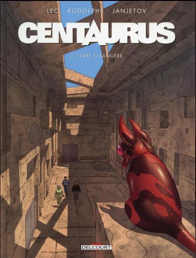 Couverture Centaurus tome 2