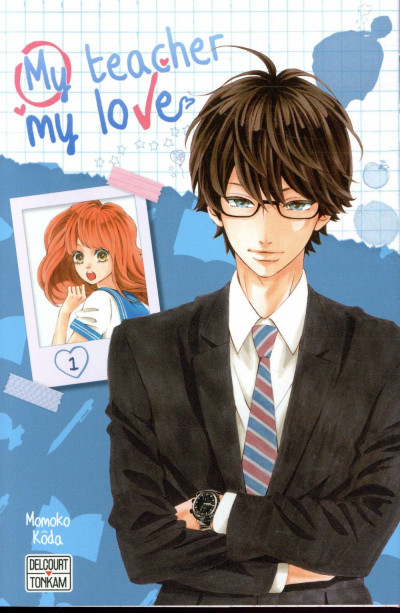 Couverture My teacher, my love tome 1