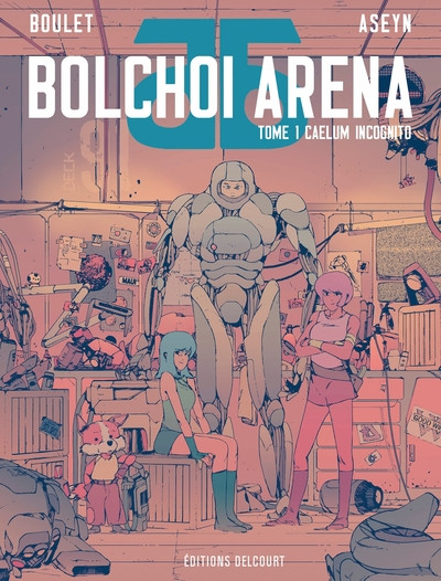 Couverture Bolchoi arena tome 1