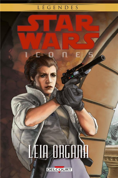 Couverture Star Wars - Icones tome 2 - Leia Organa
