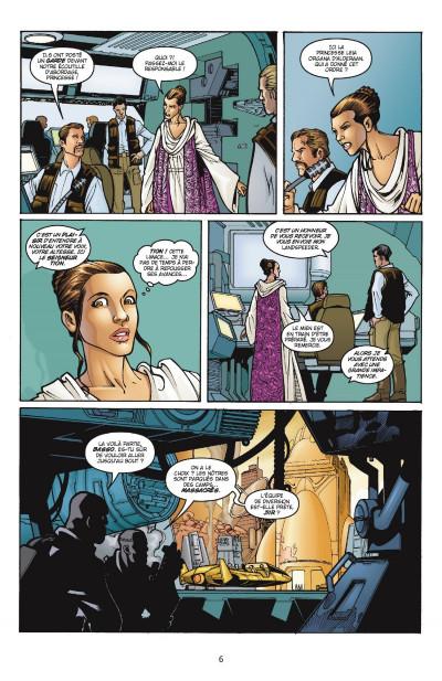 Page 1 Star Wars - Icones tome 2 - Leia Organa