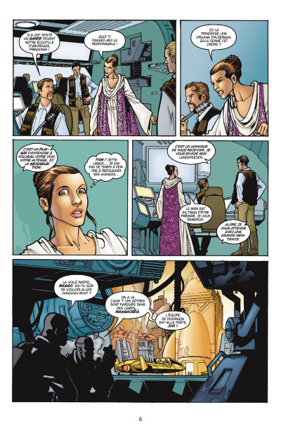 Page 2 Star Wars - Icones tome 2 - Leia Organa